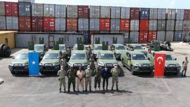 Photo of Turkey delivers 12 off-road vehicles to Somalia
