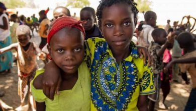 Photo of MALNUTRITION THREATENS DISPLACED CHILDREN