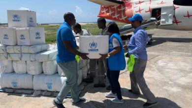 Photo of UNHCR AIRLIFT SUPPLIES TO ASSIST THOUSANDS OF SOMALIS DISPLACED BY CYCLONE GATI