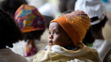 Photo of UN CONCERNED FOR CHILDREN IN ETHIOPIA