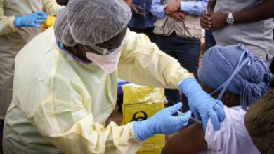 Photo of EBOLA VACCINE LAUNCHED IN GUINEA