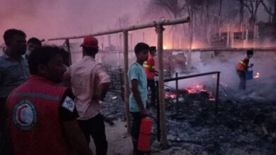 Photo of RELIEF EFFORT AS FIRE RAZES BANGLADESH CAMPS