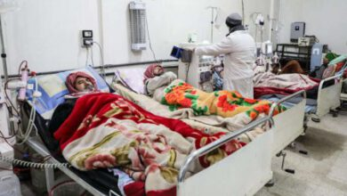 Photo of THE WAR IN SYRIA DROPS THE HEALTH SYSTEM