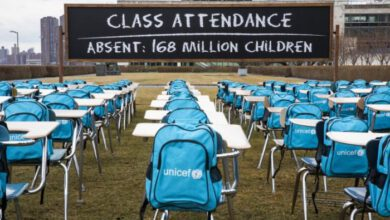 Photo of MORE THAN 168 MILLION CHILDREN HAVE NOT GOING TO SCHOOL FOR 1 YEAR