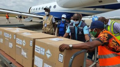 Photo of SIERRA LEONE RECEIVES INITIAL EBOLA VACCINE SUPPLY