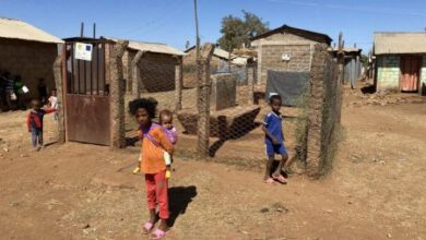 Photo of Eritrean refugees in Tigray caught up in conflict