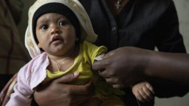 Photo of Children requiring treatment for acute malnutrition in Tigray